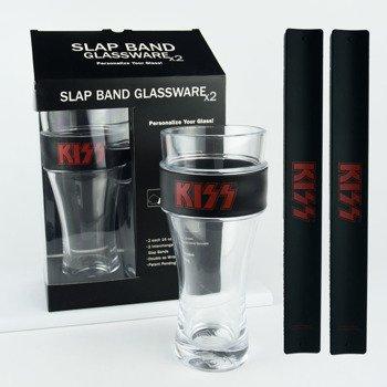 szklanka do piwa KISS - LOGO RED, 2 szt