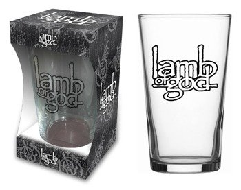szklanka do piwa LAMB OF GOD - LOGO