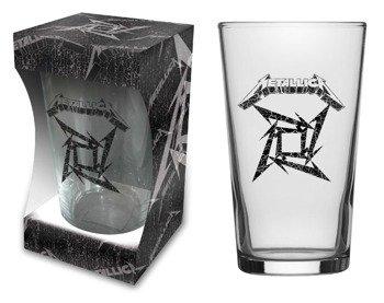 szklanka do piwa METALLICA - BLACK ALBUM
