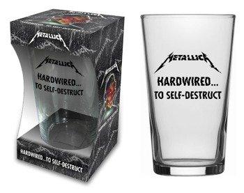 szklanka do piwa METALLICA - HARDWIRED TO SELF DESTRUCT