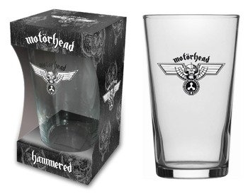 szklanka do piwa MOTORHEAD - HAMMERED