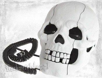 telefon ROCK DADDY - SKULL SHAPE WHITE (92004-006)