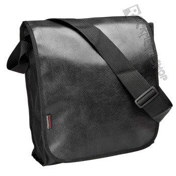 torba na ramię CZARNA + skóra ekologiczna