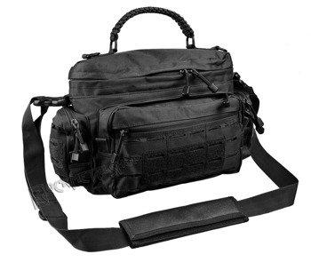 torba na ramię TACTICAL PARACORD BAG mała, czarna