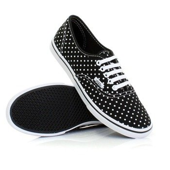 trampki damskie VANS - LEAH POLKA DOT BLACK/TRUE WHITE