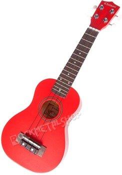 ukulele sopranowe CHATEAU U1100RD RED