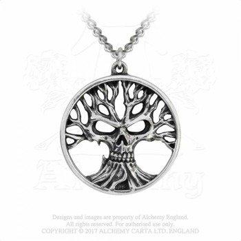 wisiorek z łańcuszkiem GOTIK TREE OF DEATH