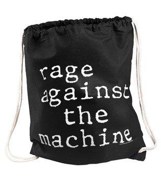 worek / plecak RAGE AGAINST THE MACHINE - STACK LOGO