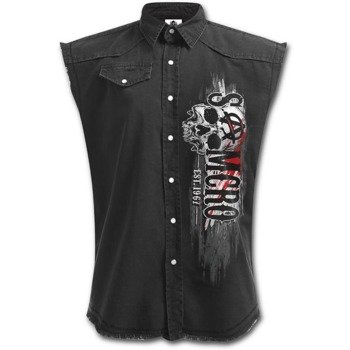 workshirt SONS OF ANARCHY - REAPER RIFLE bez rękawów