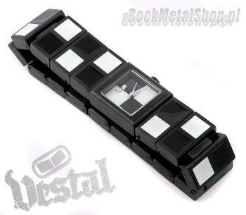 zegarek CHECK - black/white firma VESTAL