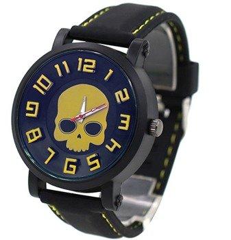 zegarek SKULL YELLOW