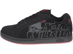 buty ETNIES - METAL MULISHA FADER BLACK BLACK RED