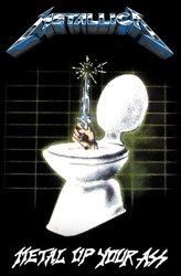 flaga METALLICA - METAL UP YOUR ASS