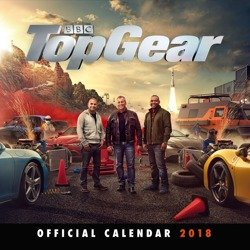 kalendarz TOP GEAR 2018