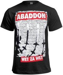koszulka ABADDON - WET ZA WET