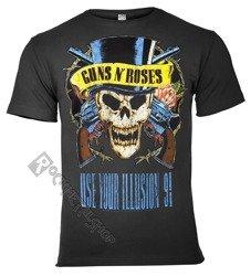 koszulka GUNS N' ROSES - USE YOUR ILLUSION 91 ciemnoszara