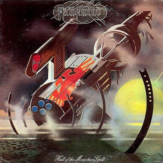 HAWKWIND: HALL OF THE MOUNTAIN GRILL (CD)