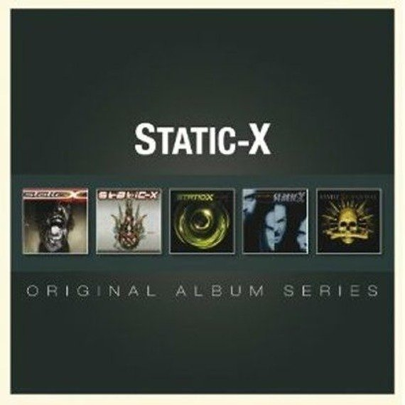 STATIC-X: ORYGINAL ALBUM SERIES (5CD)