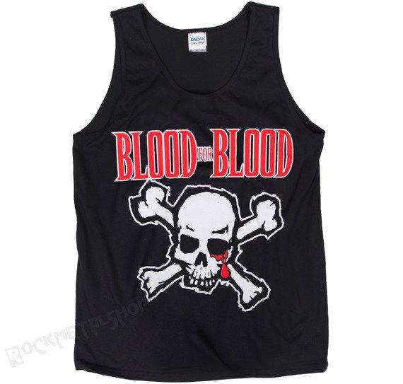 bezrękawnik BLOOD FOR BLOOD - SKULL