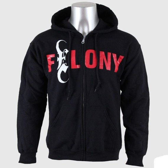 bluza EMMURE - CONVICTED FELON rozpinana, z kapturem