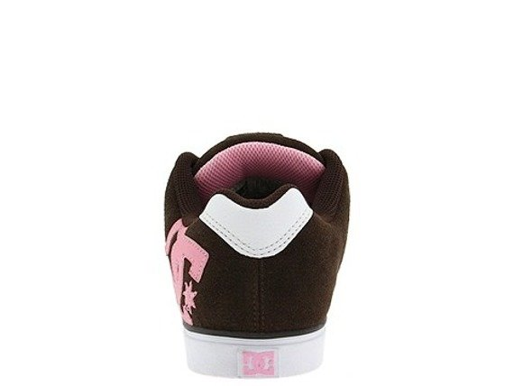 buty damskie DC - CHASE SE  (DK.CHOCOLATE/WHITE/PINK)