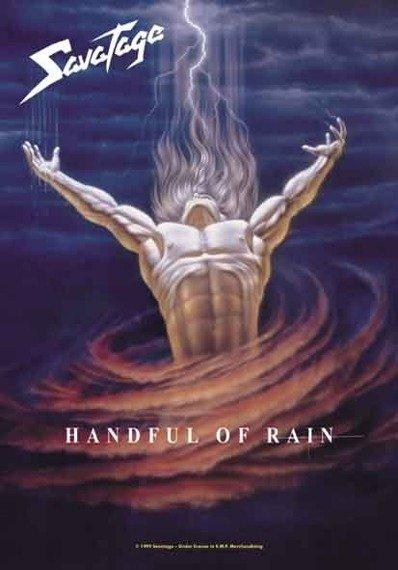 """flaga SAVATAGE """"HANDFUL OF RAIN"""""""