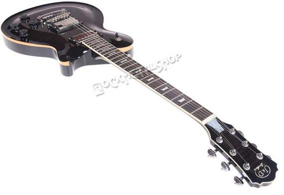 gitara elektryczna J&D BROTHERS LP STYLE transparent black LP1000FM BK