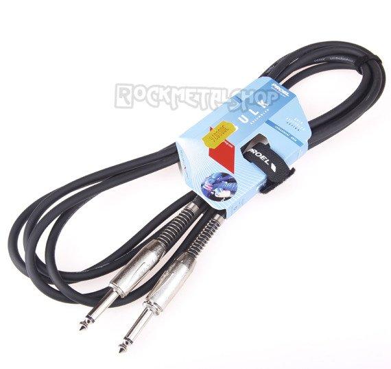kabel gitarowy PROEL 3m jack prosty/prosty
