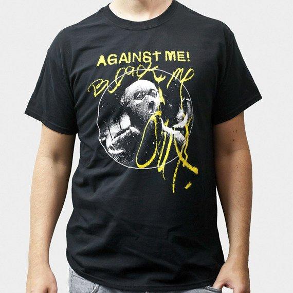 koszulka AGAINST ME! - BLACK ME OUT