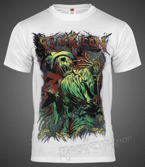 koszulka BLACK ICON - SCARECROW (MICON154 WHITE)