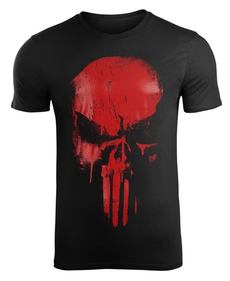 koszulka THE PUNISHER - PUNISHER SKULL
