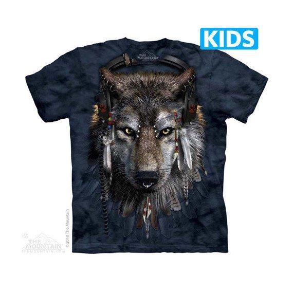 koszulka dziecięca THE MOUNTAIN - DJ FEN, barwiona