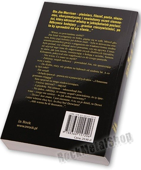 książka NIKT NIE WYJDZIE STAD ŻYWY - HISTORIA JIMA MORRISONA