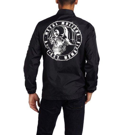 kurtka przeciwdeszczowa METAL MULISHA - TARGETED czarna