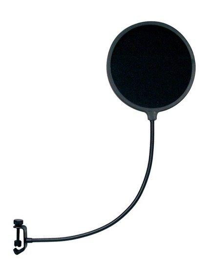 pop filtr do mikrofonu GATT AUDIO PS-1 Ø16.5 cm, na gęsiej szyjce