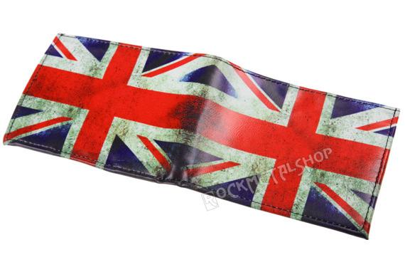 portfel UK FLAG GRUNGE