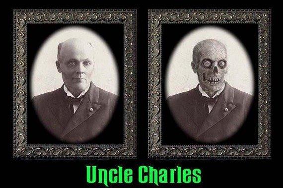 zdjęcie 3D HAUNTED MEMORIES - UNCLE CHARLES (HUME57UC)
