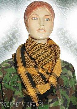Arafatka czarno-zółta