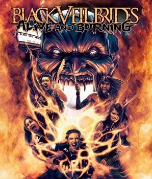 BLACK VEIL BRIDES: ALIVE & BURNING (BLURAY)