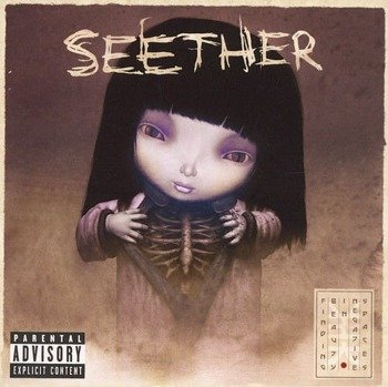 SEETHER: FINDING BEAUTY IN NEGATIVE SPACES (CD)  PA