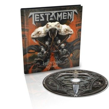 TESTAMENT: BROTHERHOOD OF THE SNAKE (CD) DIGIBOOK