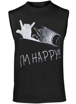 bezrękawnik I'M HAPPY!!!