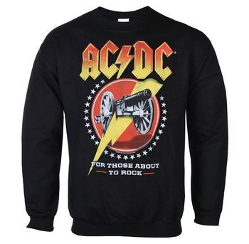bluza AC/DC - FOR THOSE ABOUT TO ROCK, bez kaptura