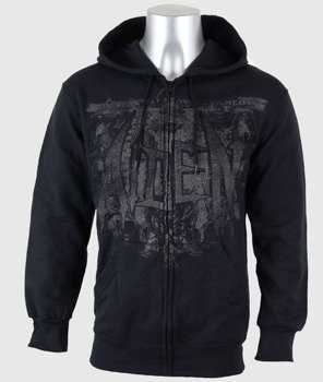 bluza AIDEN - SEE YOU IN HELL rozpinana, z kapturem