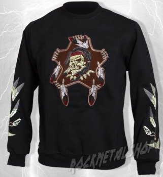 bluza INDIAN SKULL bez kaptura