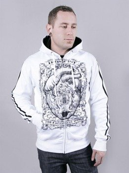 bluza IRON FIST - HEARTLESS  (WHITE)