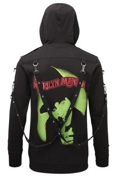 bluza KILL STAR -  MARILYN MANSON SMELLS LIKE, rozpinana z kapturem