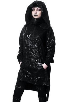 bluza KILLSTAR - BEYOND BLACK, z kapturem