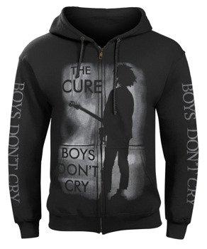 bluza THE CURE - BOYS DON'T CRY rozpinana, z kapturem