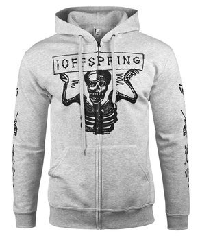 bluza THE OFFSPRING - SKELETONS rozpinana, z kapturem